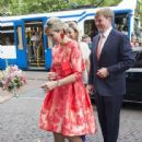 King Willem-Alexander and Queen Maxima of The Netherlands Open Holland Festival - 442 x 600