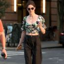 Hilary Rhoda – Out in New York City - 454 x 681