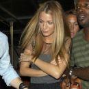 Blake Lively Checks Out Rihanna