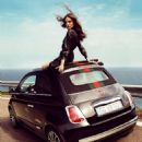 Natasha Poly Fiat 500 by Gucci 2012 Ad Campaign
