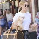 Ashley Tisdale Out and About In Soho