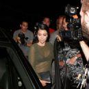 Kourtney Kardashian Leaves Craigs Restaurant In La