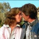 Michael J. Fox and Claudia Wells in Back to the Future (1985)