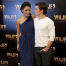 Vanessa Hudgens and Josh Hutcherson continued promotions for their new film, Journey 2: The Mysterious Island, in Mexico, January 27