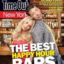 Kristin Chenoweth, Sean Hayes - Time Out New York Magazine Cover [United States] (17 March 2010)