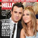 Jennifer Aniston, Justin Theroux - Hello! Magazine Cover [Canada] (29 August 2016)