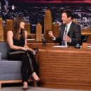 Jessica Biel on 'The Tonight Show Starring Jimmy Fallon' in New York - 454 x 302