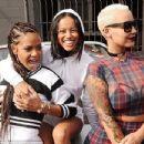Amber Rose, Karrueche, Christina Milian, and Vanessa Simmons Participate in the Shift to Coachella Event in Los Angeles, California - April 10, 2015 - 454 x 348