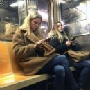 Nicky Hilton – Riding the subway in New York - 454 x 621