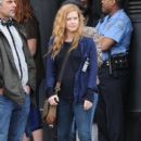 Amy Adams Performs on the Set of 'Sharp Objects' - 398 x 600
