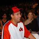 2004 MTV Movie Awards - Adam Sandler and Drew Barrymore - Backstage