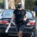Lea Michele – Out in Brentwood