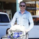 Tyler Ferguson does some solo grocery shopping at Whole Foods in West Hollywood, Calfiornia on January 5, 2015 - 454 x 570