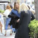 Whitney Port has lunch with a friend at La Scala in Beverly Hills, California on March 22, 2017 - 400 x 600