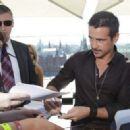 Colin Farrell at photocall for 'Total Recall' in Moscow, Russia on August 8, 2012
