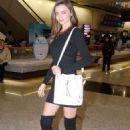 Miranda Kerr At Hong Kong International Airport