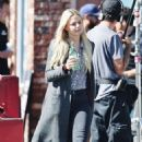 Jennifer Morrison – Filming 'Once Upon a Time' in Vancouver September 24, 2016 - 454 x 506
