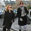 Kylie Minogue - Leaving Her Home To Go Shopping At Harrods, 17 January 2010