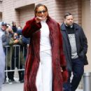 Jennifer Lopez – Leaving The View in New York