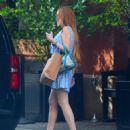 Lindsay Lohan – Arrives home at Long Island, New York City - 454 x 542