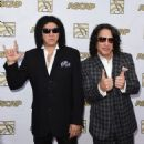 Gene Simmons and Paul Stanley attend the 32nd Annual ASCAP Pop Music Awards held at The Loews Hollywood Hotel on April 29, 2015 in Hollywood, California.