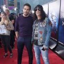 Slash and Eli Roth attend Halloween Horror Nights 2018 at Universal Studios Hollywood on September 14, 2018 in Los Angeles, California