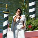 Celebrity Excelsior Arrivals During The 77th Venice Film Festival - Day 2