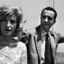 Monica Vitti and Michelangelo Antonioni - 454 x 327