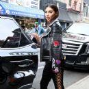 Chantel Jeffries Leaves Lower East Side Hotel in New York City - 454 x 700