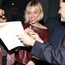 Sienna Miller Arrives A Screening Of The Film American Sniper In Los Angeles
