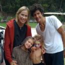 Mike D and Tamra Davis with their children