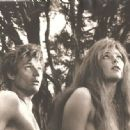 "Ulla Bergryd and Michael Parks in ""The Bible, in the Beginning"", 1966"