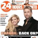 Avril Lavigne and Chad Kroeger - 24 hours toronto Magazine Cover [Canada] (4 April 2016)