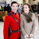 Erin Krakow and Daniel Lissing