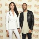 Daniela Braga and boyfriend Ryan Leslie attend The Nice Guys screening on May 12, 2016 in New York