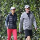 Emmanuelle Chriqui – Out for a hike with a friend in Hollywood - 454 x 696