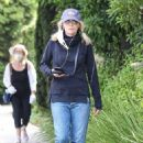 Michelle Pfeiffer – Out walking in Santa Monica