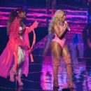 Nicki Minaj performs onstage during the 2016 MTV Video Music Awards at Madison Square Garden on August 28, 2016 in New York City