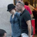 Scarlett Johansson - Out And About In Madrid, Spain, 13. 7. 2009.