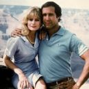 Beverly D'Angelo and Chevy Chase