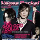 Robby Takac, Mike Malinin, Johnny Rzeznik - Vegas Rocks Magazine Cover [United States] (June 2010)