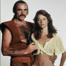 Sean Connery and Charlotte Rampling