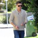 Zac Efron: West Hollywood Mustache Man