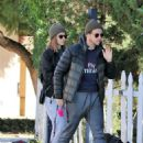 Kate Mara – With Her Dogs in Los Angeles