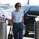 Katie Holmes at JFK Airport in NY