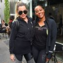 Khloe Kardashian is seen leaving SoulCycle in West Hollywood, California on March 25, 2017 - 400 x 600