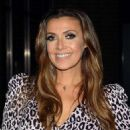 Kym Marsh at The Ray Darcy Show in Ireland - 454 x 568