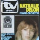 Nathalie Delon - TV Jour Magazine Cover [Belgium] (16 October 1982)