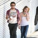 Michael Angarano and Emma Roberts