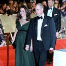 Prince Windsor and Kate Middleton : 2018 Bafta Award Ceremony